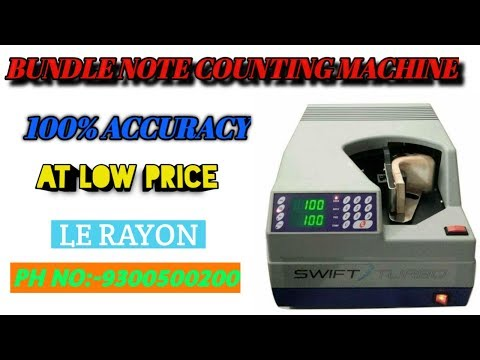 Godrej Bundle Note Counting Machine