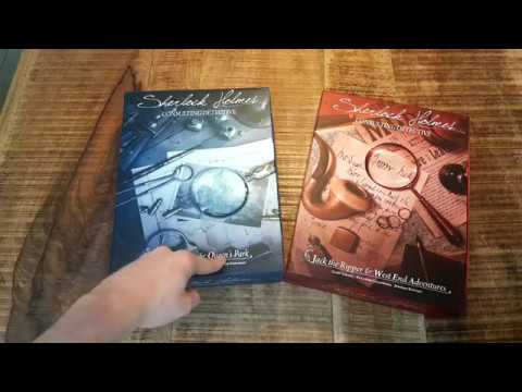 Sherlock Holmes Consulting Detective Carlton House & Queen's Park (unboxing)