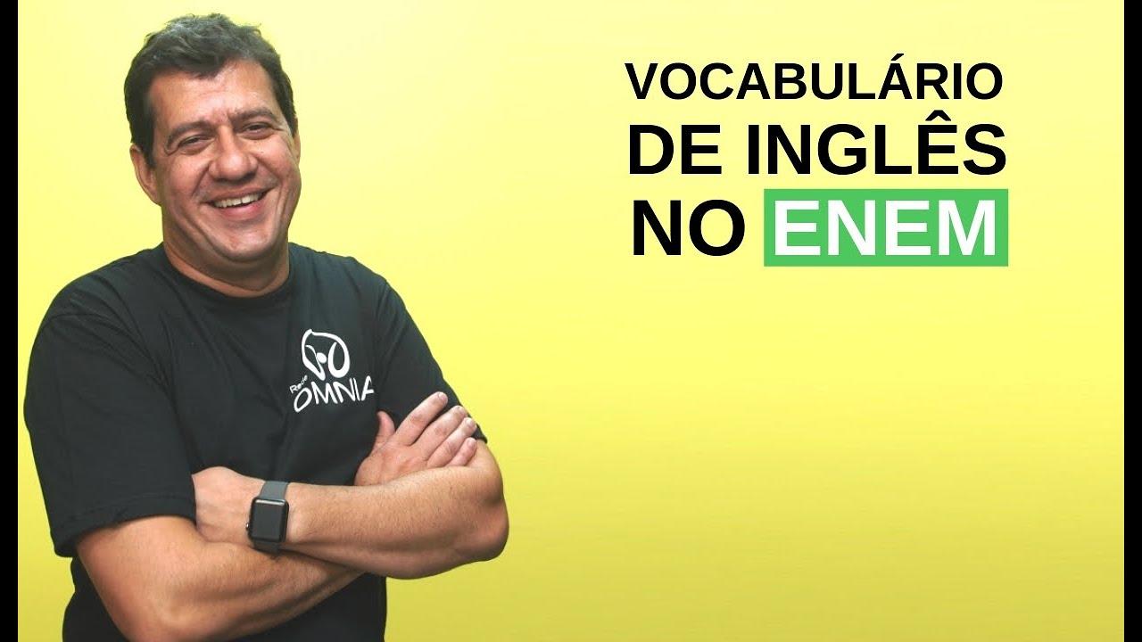 Vocabulário de Inglês no Enem