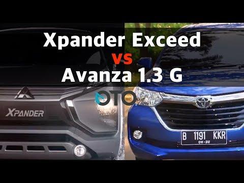 Xpander Exceed vs Avanza 1.3 G I OTO.com