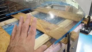 Vans RV 7 HINT Video Canopy Glass 11