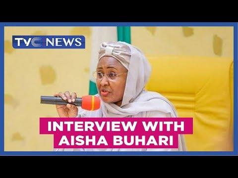 Interview with Aisha Buhari, wife of Nigerian President Muhammadu Buhari