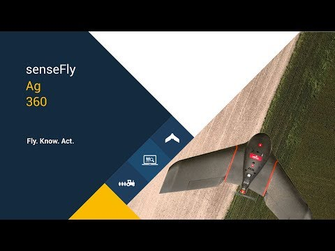 senseFly's Ag 360 is a complete aerial crop analysis system.