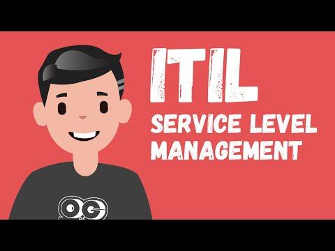 ITIL Service Level Management - YouTube