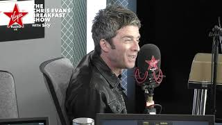 Noel Gallagher on The Chris Evans Breakfast Show with Sky