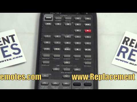 KENWOOD RCA7 Audio/Video Receiver Remote Control