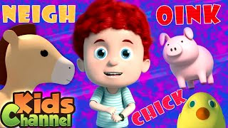 Old MacDonald Had a Farm | Schoolies Cartoon Videos | Baby Rhymes & Kids Songs by Kids Channel