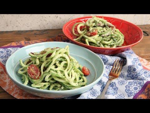 Zoodles with Avocado Pesto Recipe | Episode 1169