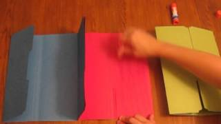 How To Make A Tri-Folder Lapbook.mpg