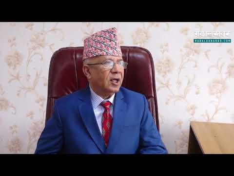 व्यक्तिवादमा डुबेका केपीले  नियमको कुरा गर्न सुहाउँदैन : माधव नेपाल