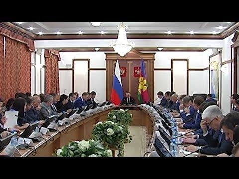 Губернатор Кубани остался недоволен темпами освоения бюджетных средств