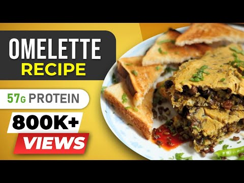 Video Super High Protein Omelette - Indian Egg Recipes - BeerBiceps Bodybuilding Diet Breakfast