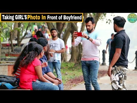 Taking GIRL'S Photo In Front  Of Boyfriend #3 - Epic Reactions - Pranks In India| By TCI