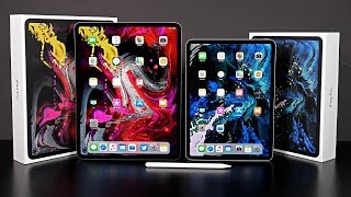 "Apple iPad Pro 11"" vs 12.9"": Unboxing & Review"