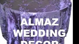 Almaz Wedding Decor, Ethiopian/Eritrean Wedding In USA, Habesha Wedding Decor