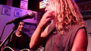 Boy Hits Car- Man Without Skin (live 11.6.10)