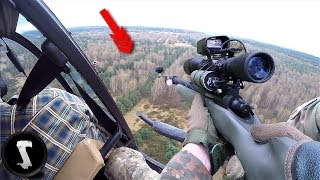 Airsoft Players Use A HELICOPTER For Their Group IN GAME!