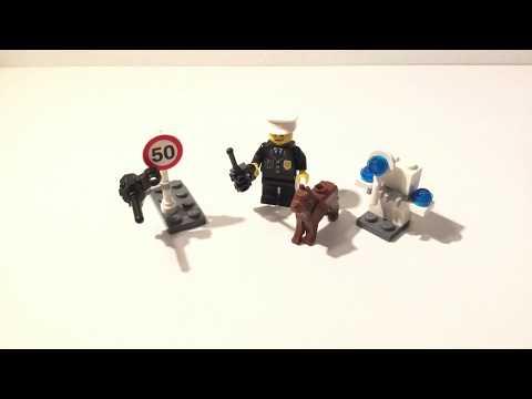 Vidéo LEGO City 5612 : Le policier