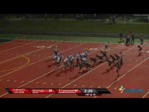 Edgewood Mustangs vs Mitchell Blue Jackets YouTube thumbnail image