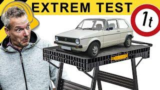KEINE GNADE! MOBILE WERKBÄNKE IM EXTREM TEST!   WERKZEUG NEWS #64