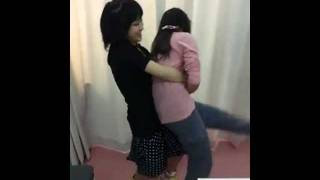 20120119_HKT48古森結衣vs村重杏奈