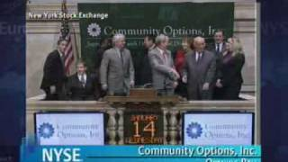 Opening Bell at the New York Stock Exchange