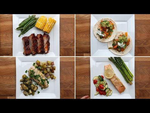 Video 4 Simple One-Pan Dinners