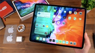 Apple iPad Pro 12.9 (2020) Unboxing! My First iPad!