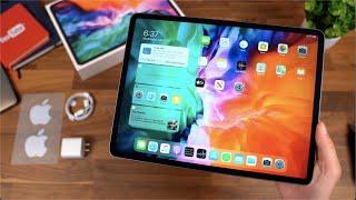 Apple iPad Pro 12.9 (2020) Unboxing! My First iPad!