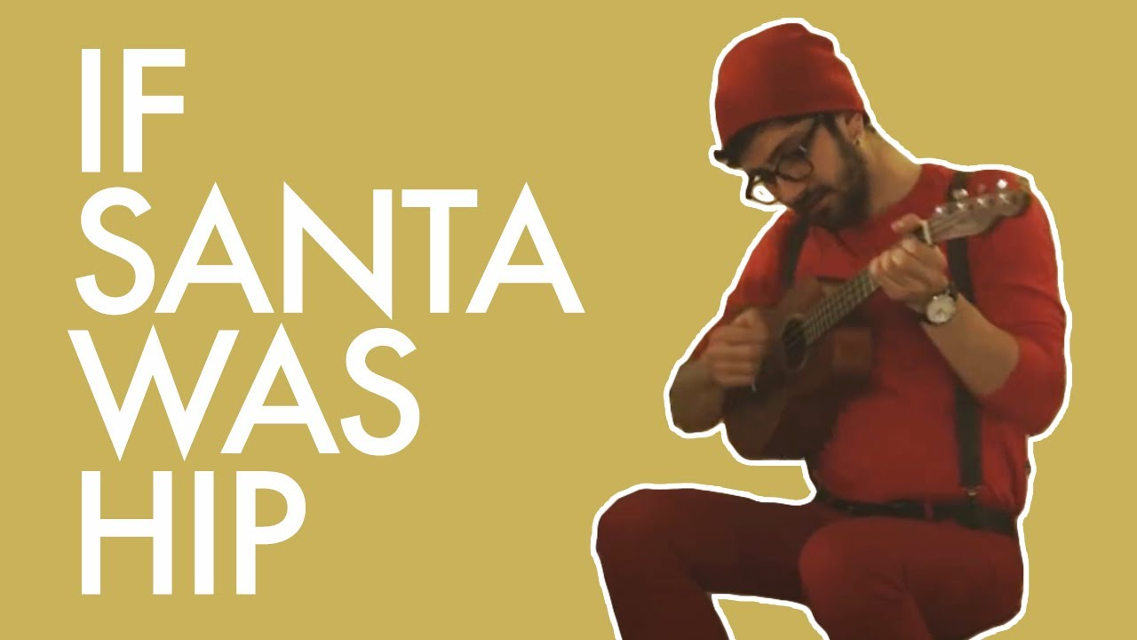 Hipster Santa Keeps His List In The Cloud