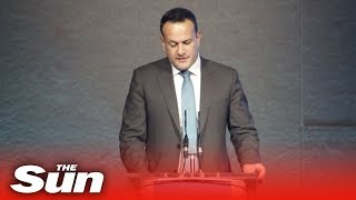 Irish PM Leo Varadkar stands strong with Europe