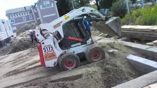Как выполнить засыпку фундамента 🚜 мини-погрузчиком Бобкэт - bobcat39.ru