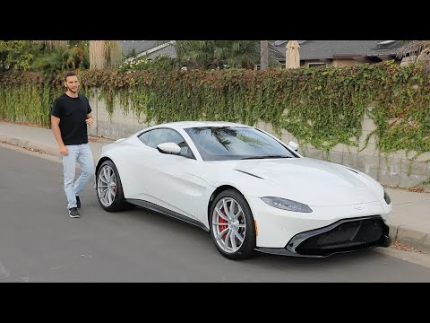 2020 Aston Martin Vantage Test Drive Video Review
