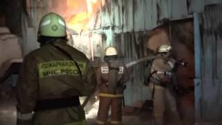 6 грузовиков сгорели в Сургуте
