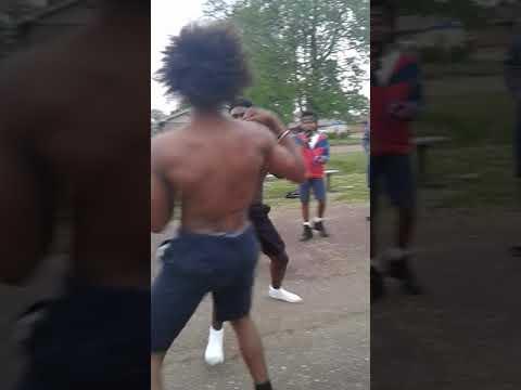 White Oak park fight