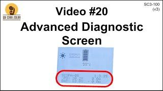 20  v3 Solar Suitcase – Advanced Diagnostic Screen