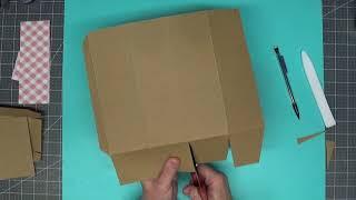 Host Or Hostess Gift & Gift Box Tutorial
