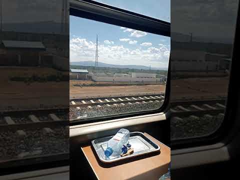 The Nairobi suswa inaugural train ride