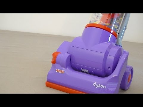 Dyson DC14 Toy Vacuum Cleaner By Casdon Assembly & Review