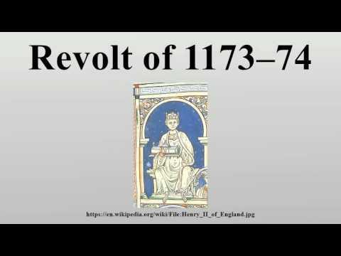 Revolt of 1173–74