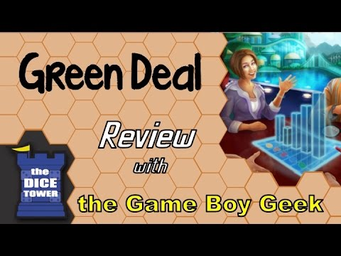 The Game Boy Geek (Dice Tower) Reviews Green Deal