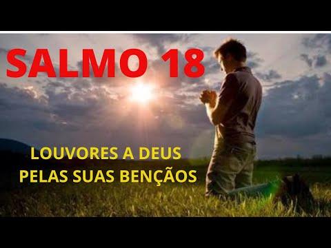 SALMO 18 - LOUVORES A DEUS PELAS SUAS BENOS - BIBLIA FALADA