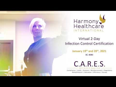 2-Day Infection Control Certification Course - January 19th & 20th ...