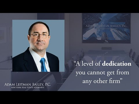 """A level of dedication you cannot get from any other firm"" testimonial video thumbnail"