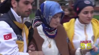 SAMSUN'DAKİ TRAFİK KAZASINDA 2 KADIN HAMİLE ÇIKINCA KORKULU ANLAR YAŞANDI!