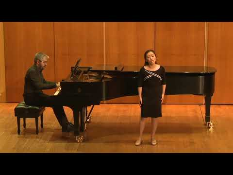 Performing with another Temple University Students on Recital.