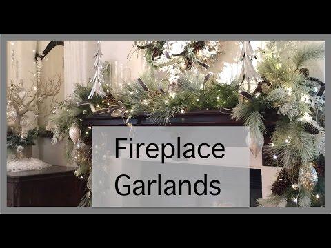 Christmas Decorations | Fireplace Garland