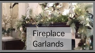 Christmas Decorations | Fireplace Garland