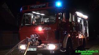 preview picture of video '[E] - [DACHSTUHLBRAND] ++ Feuerwehr Ötisheim & Mühlacker im Einsatz | [EINSATZSTELLE IM ENZKREIS]'