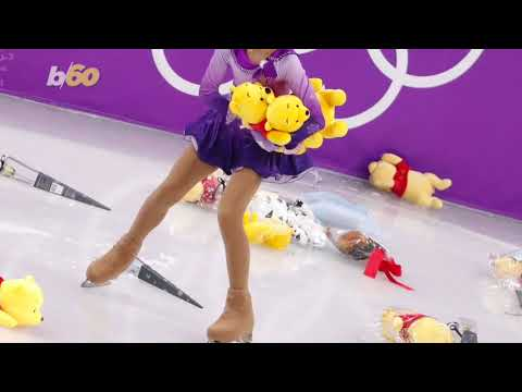 Here's Why Winnie the Pooh Bears Were Thrown at Olympic Skater Yuzuru Hanyu